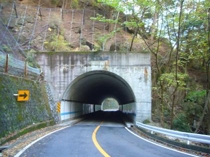 昇仙峡の隧道群10