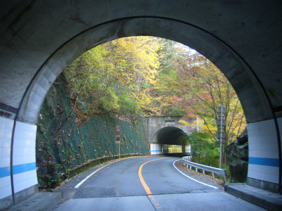 昇仙峡の隧道群11