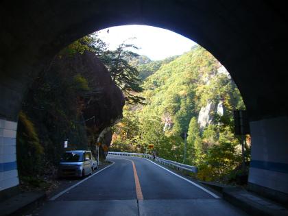昇仙峡の隧道群19