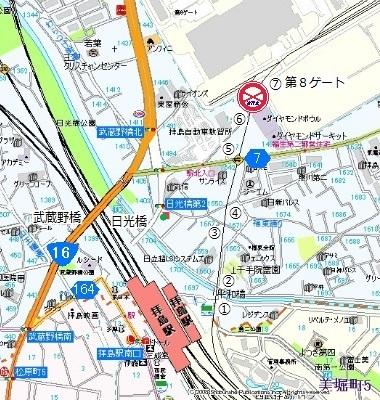 横田基地専用線01