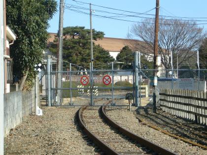 横田基地専用線10