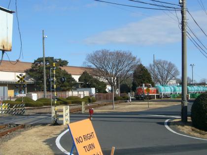 横田基地専用線13
