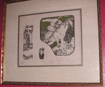 バルセロナ 挿絵の額
