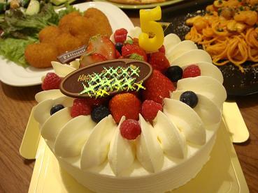 120418誕生日ケーキ