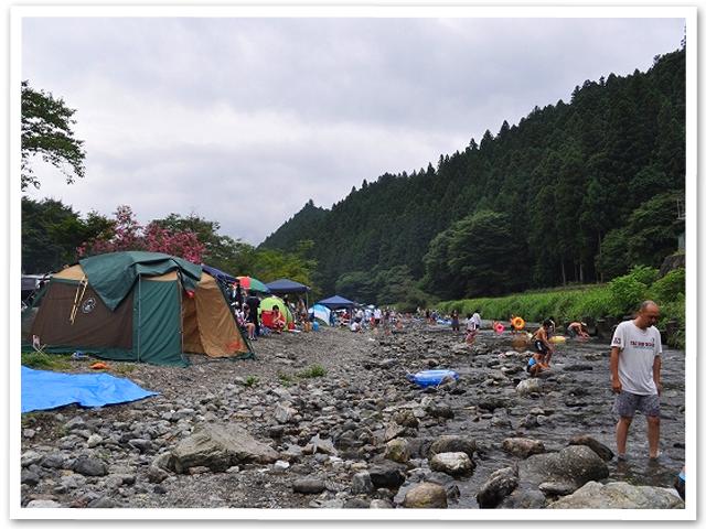 川遊び☆名栗川