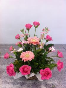 メインの花を入れる