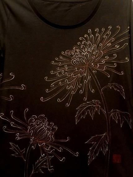 糸菊 ロングTシャツ