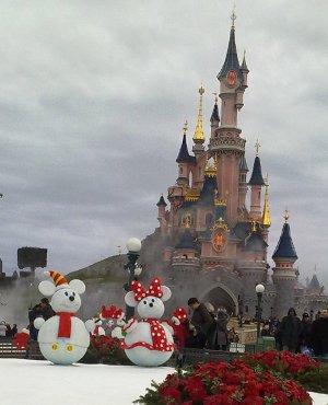 ディズニーのお城
