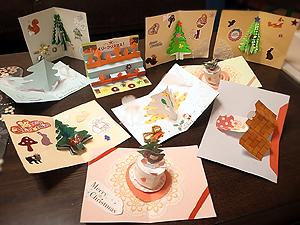 クリスマスカードみんなの作品1122