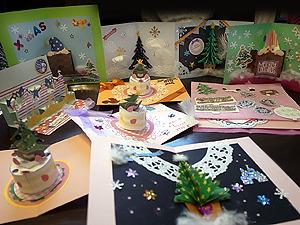 クリスマスカードみんなの作品1125