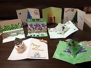 クリスマスカードみんなの作品1128