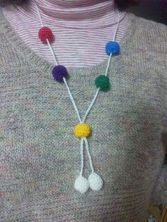 5玉のネックレス