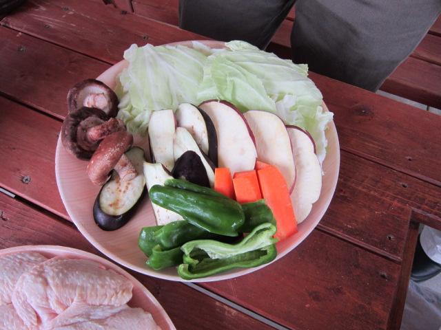お野菜~\(^o^)/