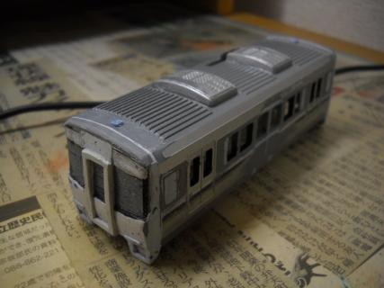 プラレールでJR西のキハ122系を作ろう!加工後篇