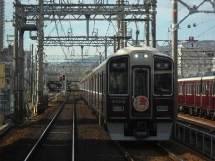 運用初日の阪急1000系をサブな撮影地で・・・