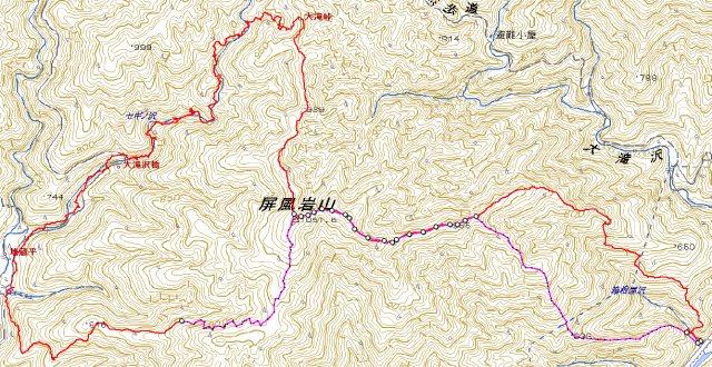 2011.12.24権現歩道