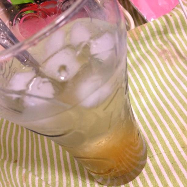 アイスゆず茶