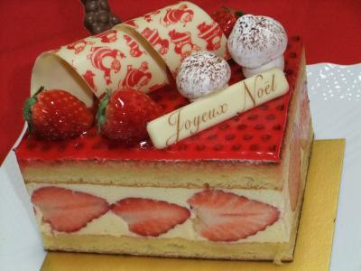 20101224クリスマスケーキ