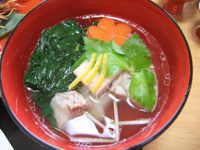 2011-01-01お雑煮