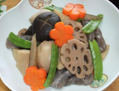 2011-01-01煮しめ