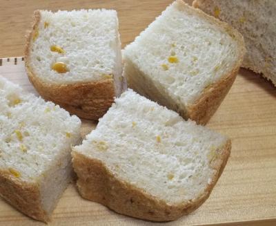 とうもろこししょうゆ食パン
