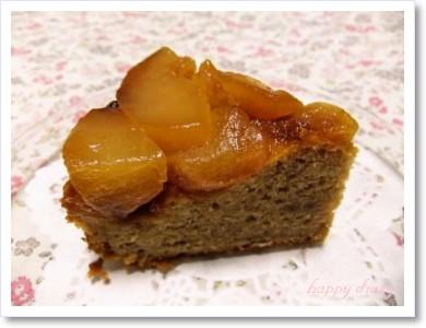 リンゴとシナモンのケーキ2