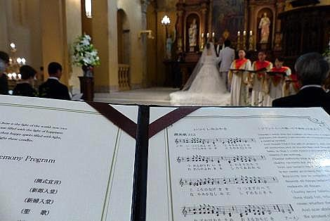 結婚式に♪