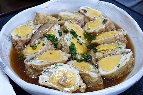 Мちゃんの卵の袋煮♪
