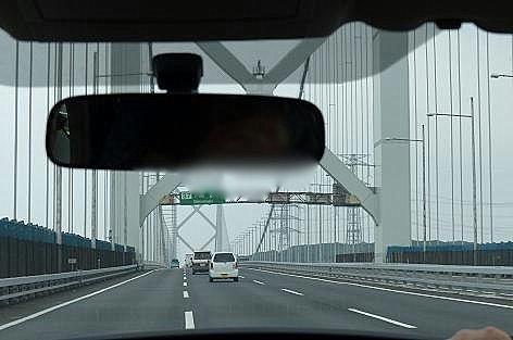 関門橋を渡り♪