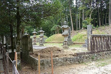 毛利家墓所♪