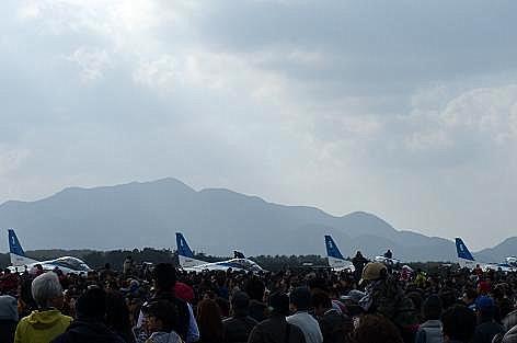 芦屋基地航空祭へ♪