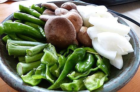 焼き野菜♪