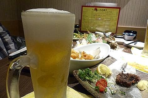キンキンのビールや♪
