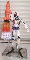S.H.フィギュアーツ 仮面ライダーフォーゼ スタンド&エフェクトセット(ロケットモジュール噴射)