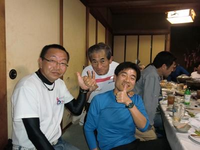 (左から) はぴちのパパさん、Nakayoshiさん、アッチャン