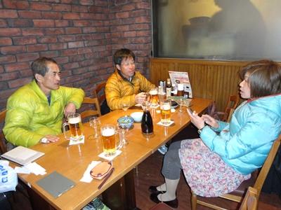 Nakayoshiさん、S山先輩、ラルム♪さん