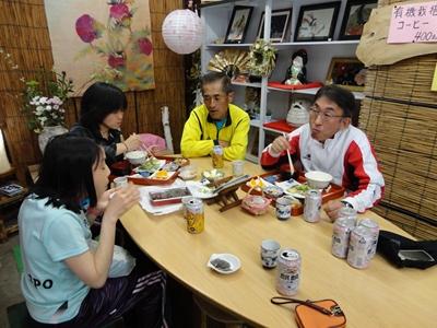 ともちゃん、Mりさん、Nakayoshiさん、N川さん
