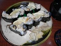 牡蠣の寿司