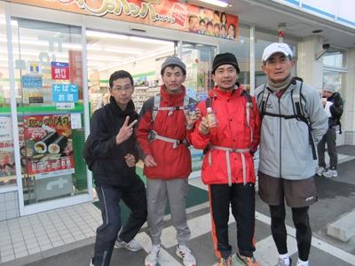 (左から) シュガーさん、F田さん、高いところが好きさん、Nakayoshiさん