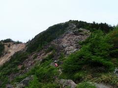 水ノ塔への登り