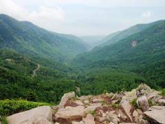 水ノ塔山頂から見える八ヶ岳