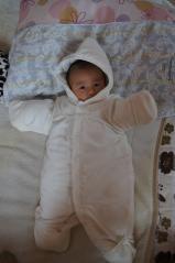 ホワイト赤ちゃん