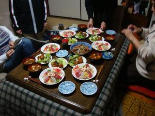 華やかな食卓