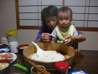 手巻き寿司③