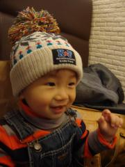 帽子のプレゼント