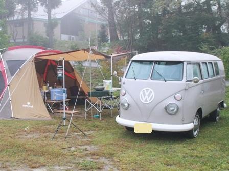 秋キャンプサイト