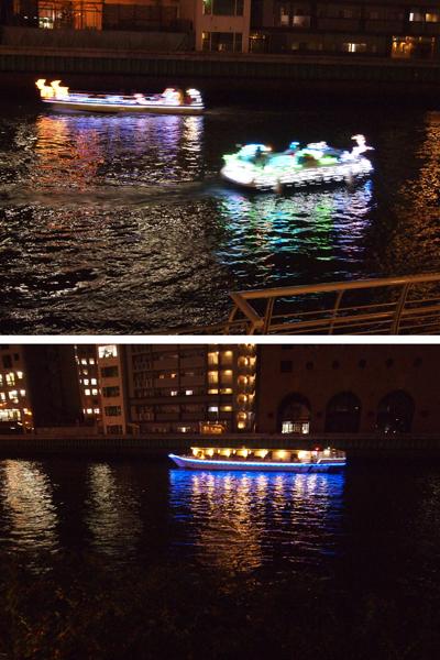 33・光をまとった船