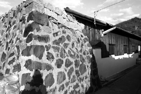 11・石垣の囲い