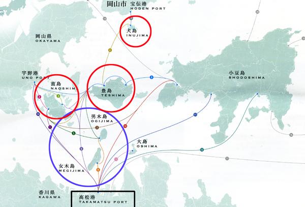 33・島々の地図