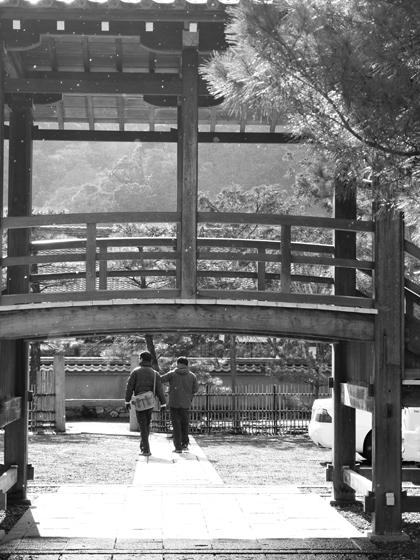 09・天龍寺にて